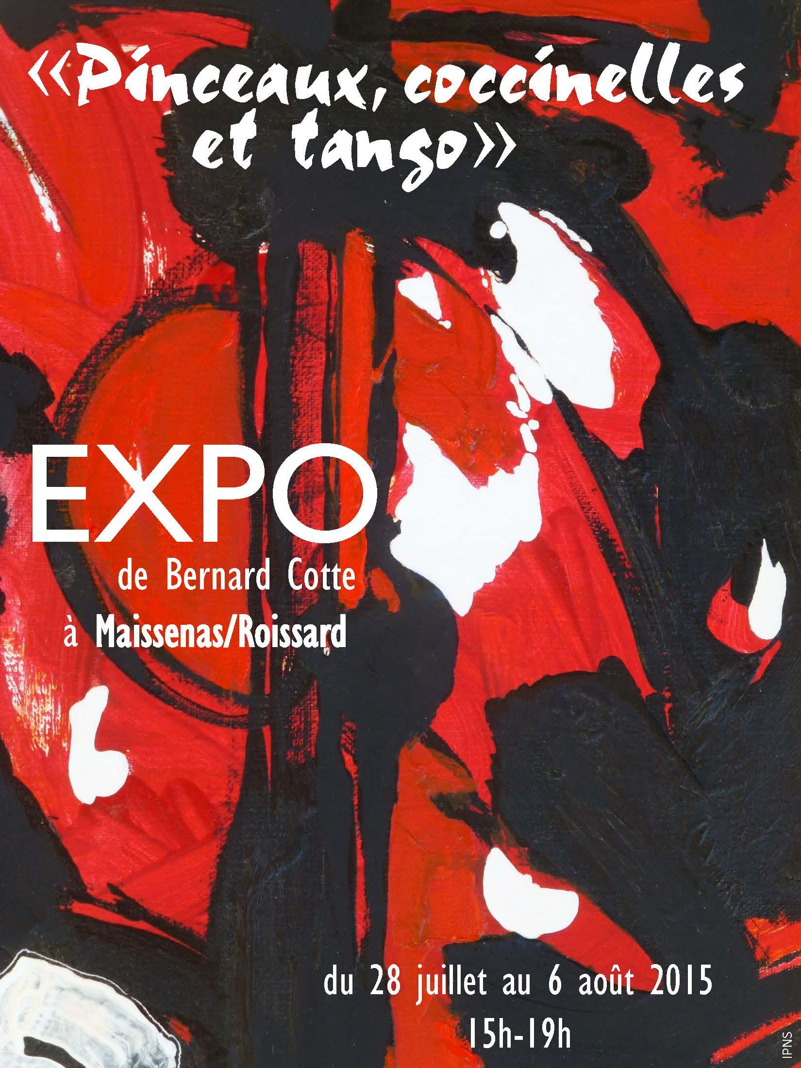 Affiche Bernard Cotte